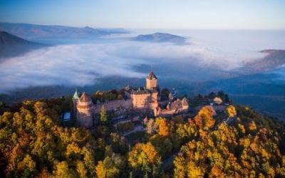 TV : Aubriat au château du Haut Koenigsbourg